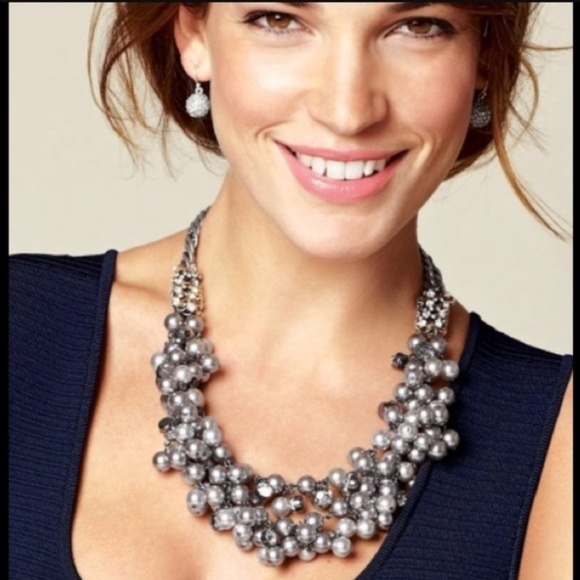 Stella & Dot Jewelry - Stella & Dot Isadora Pearl Bib Necklace